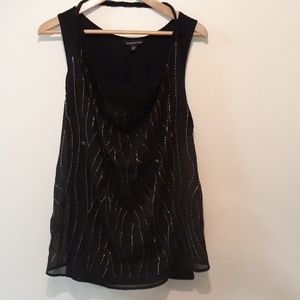 Rock And Republic Beaded Tank New Without Tags